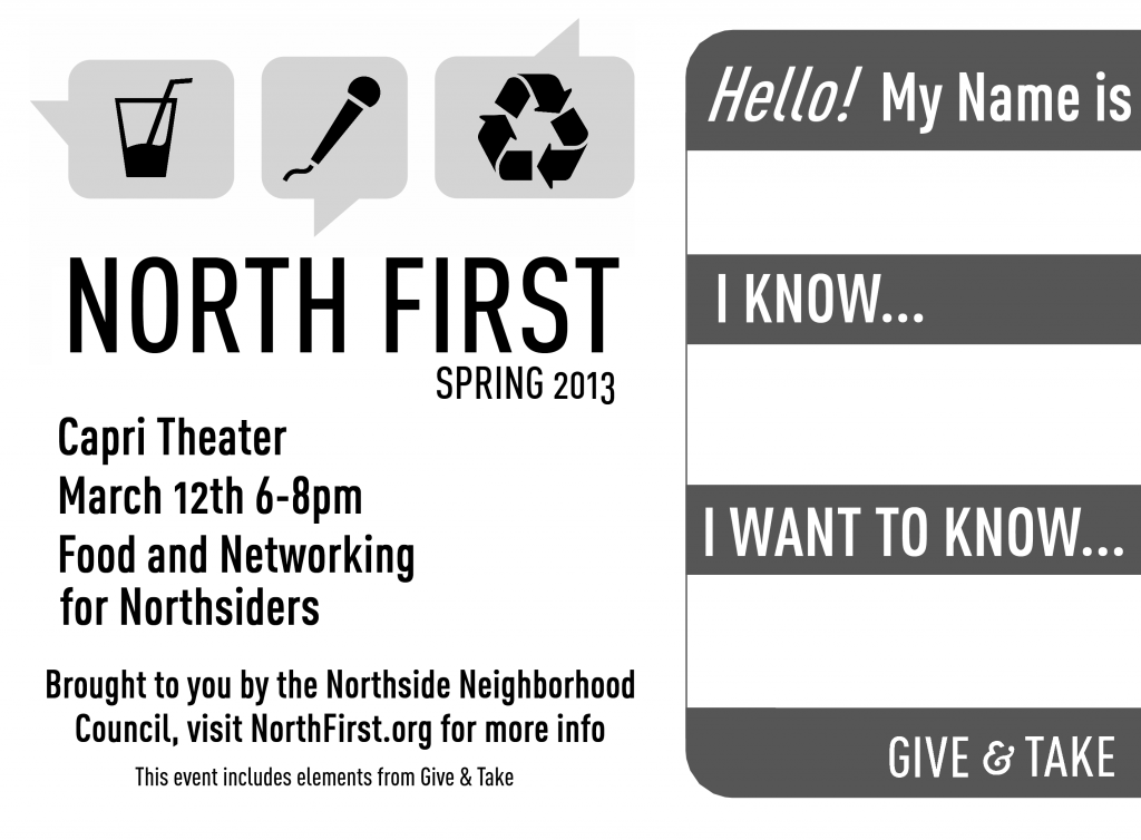 Mar. 12th, 2013 North First Social Gathering