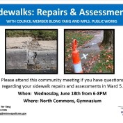June 18th Sidewalk Meeting Information