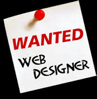 Wanted: Website Designer